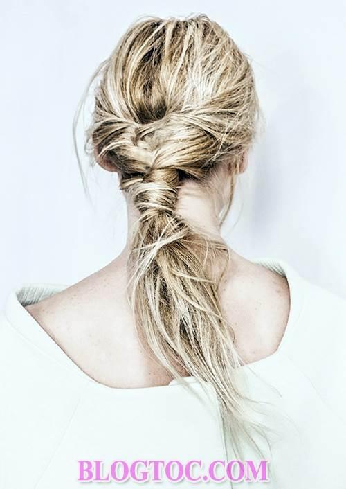 6 kiểu tóc đẹp đơn giản trong những lúc làm việc hay làm nội trợ và hướng dẫn cách làm 1