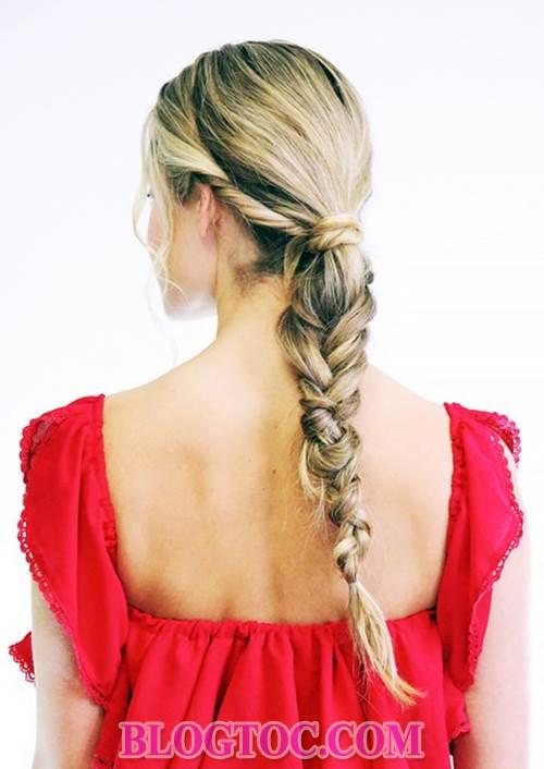 6 kiểu tóc đẹp đơn giản trong những lúc làm việc hay làm nội trợ và hướng dẫn cách làm 2