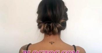 Các bước để có một mái tóc búi kiểu pháp đẹp đơn giản chỉ sau 1 phút 3