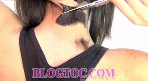 Hướng dẫn cách cắt tóc bob chữ A thời thượng tại nhà đẹp như cắt ngoài salon 9