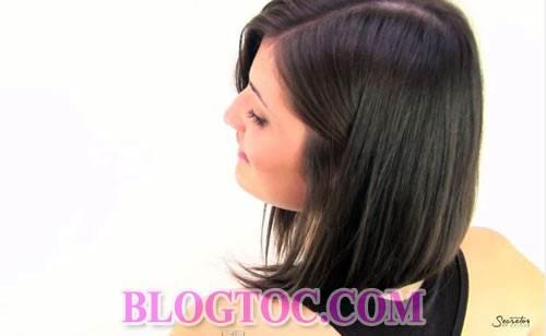 Hướng dẫn cách cắt tóc bob chữ A thời thượng tại nhà đẹp như cắt ngoài salon 10