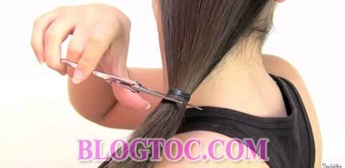 Hướng dẫn cách cắt tóc bob chữ A thời thượng tại nhà đẹp như cắt ngoài salon 5