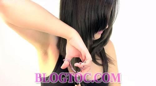 Hướng dẫn cách cắt tóc bob chữ A thời thượng tại nhà đẹp như cắt ngoài salon 7