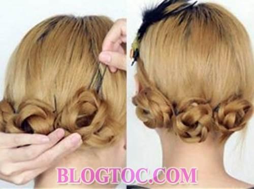 Hướng dẫn tết tóc lệch tết tóc cổ điển và tết tóc bông hoa đẹp cho những cô nàng làm việc nơi công sở 3