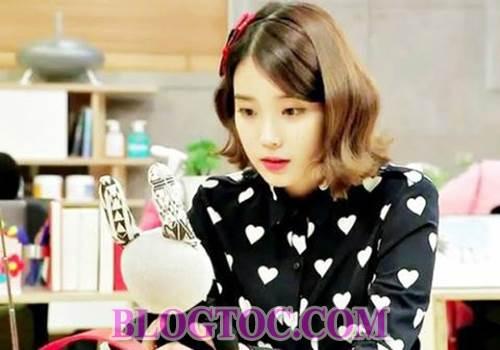 Những kiểu tóc dễ thương đang thịnh hành nhất của dàn sao Hàn Quốc 1