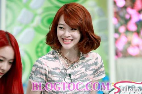 Những kiểu tóc dễ thương đang thịnh hành nhất của dàn sao Hàn Quốc 2