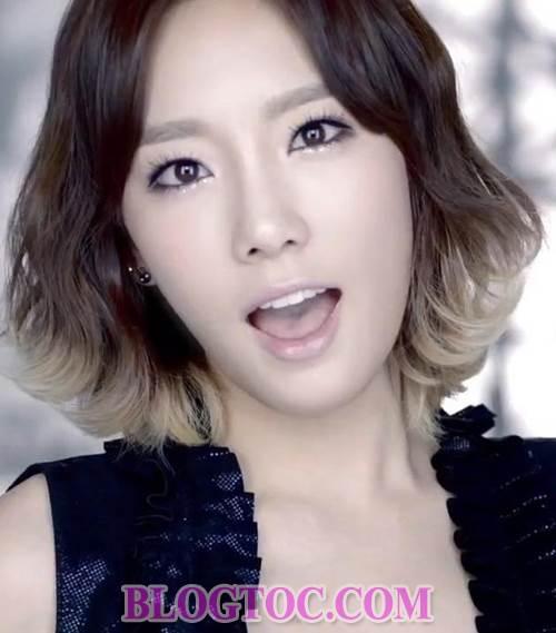 Những kiểu tóc dễ thương đang thịnh hành nhất của dàn sao Hàn Quốc 4
