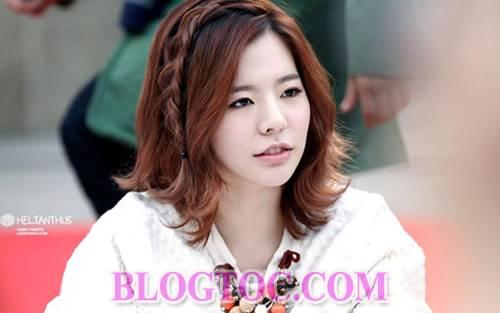 Những kiểu tóc dễ thương đang thịnh hành nhất của dàn sao Hàn Quốc 5
