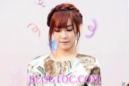 Những kiểu tóc dễ thương đang thịnh hành nhất của dàn sao Hàn Quốc 7