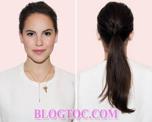 Những kiểu tóc đẹp gọn giúp bạn ngụy trang khi tóc bết bẩn 1