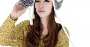 Những kiểu tóc đẹp phối cùng mũ len cực kì dễ thương cho các bạn trẻ 5