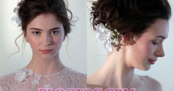Những kiểu tóc đẹp với phụ kiện đi kèm của cô dâu được các chuyên gia đánh giá sẽ phát triển mạnh trong thời gian sắp tới 6
