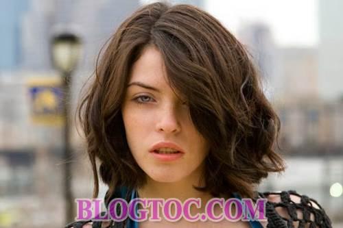 Những kiểu tóc ngắn cá tính và kiểu tóc dài dễ thương cho những bạn gái sở hữu khuôn mặt dài 1