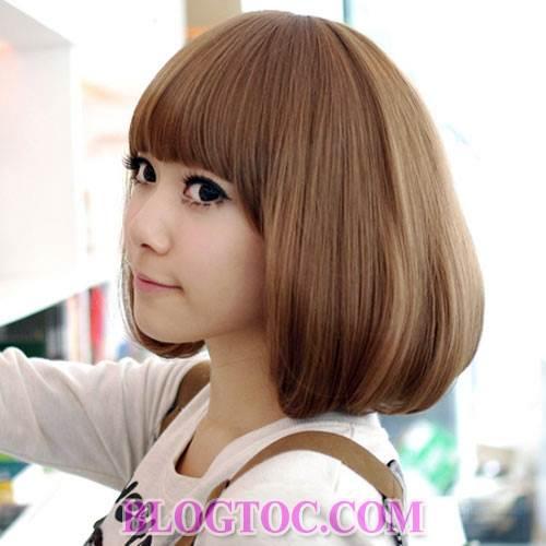 Những kiểu tóc ngắn cá tính và kiểu tóc dài dễ thương cho những bạn gái sở hữu khuôn mặt dài 3