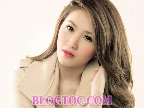 Những kiểu tóc ngắn cá tính và kiểu tóc dài dễ thương cho những bạn gái sở hữu khuôn mặt dài 7