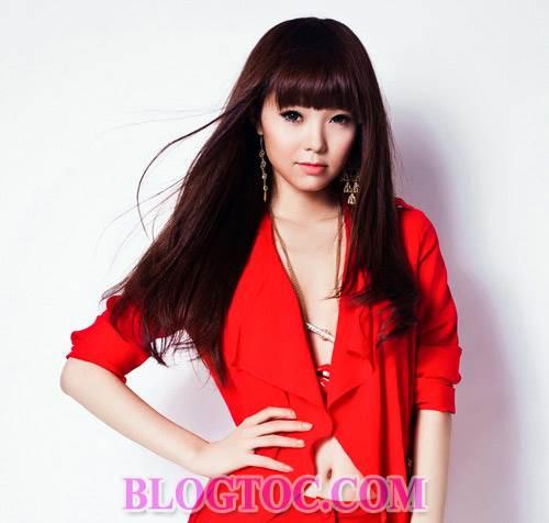 Những kiểu tóc ngắn cá tính và kiểu tóc dài dễ thương cho những bạn gái sở hữu khuôn mặt dài 8