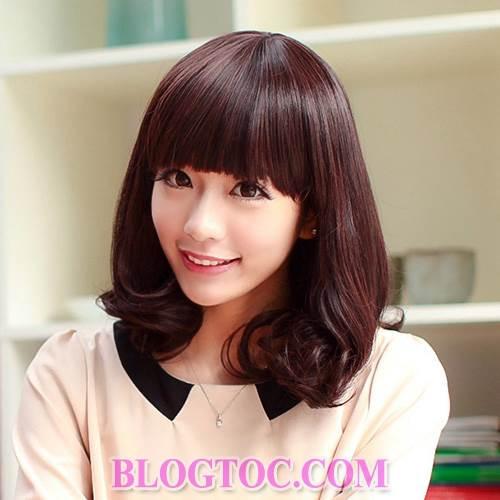 Những kiểu tóc ngắn cá tính và kiểu tóc dài dễ thương cho những bạn gái sở hữu khuôn mặt dài 9