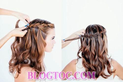 Những kiểu tóc tết đẹp sang trọng đơn giản dễ làm tại nhà đang được nhiều bạn gái yêu thích 2