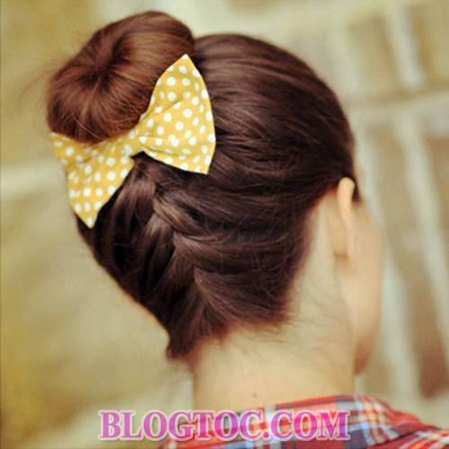 Những kiểu tóc tết đẹp sang trọng đơn giản dễ làm tại nhà đang được nhiều bạn gái yêu thích 3