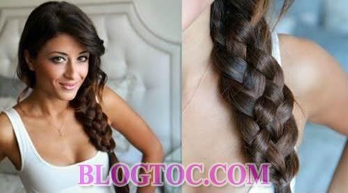 Những kiểu tóc tết đẹp sang trọng đơn giản dễ làm tại nhà đang được nhiều bạn gái yêu thích 5