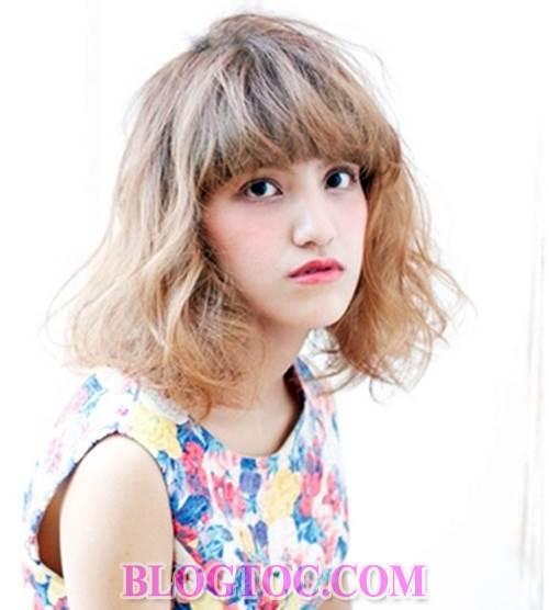 Những kiểu tóc uốn nhuộm đẹp của người phụ nữ nhật hiện đại đang được thịnh hành 2