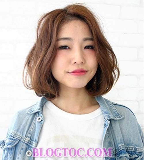Những kiểu tóc uốn nhuộm đẹp của người phụ nữ nhật hiện đại đang được thịnh hành 4