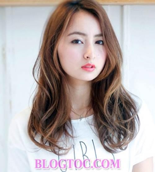Những kiểu tóc uốn nhuộm đẹp của người phụ nữ nhật hiện đại đang được thịnh hành 7