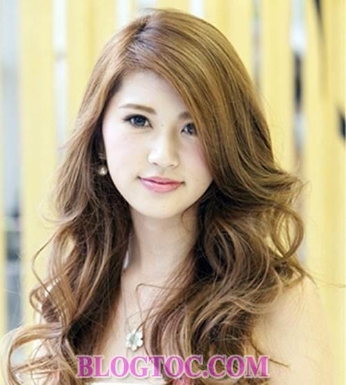 Những kiểu tóc uốn nhuộm đẹp của người phụ nữ nhật hiện đại đang được thịnh hành 9