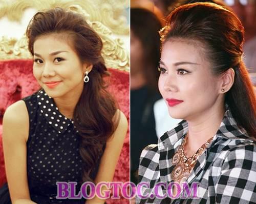 Những kiểu tóc xoăn đẹp mang phong thái cổ điển của các sao Việt khi xuất hiện trước công chúng 4