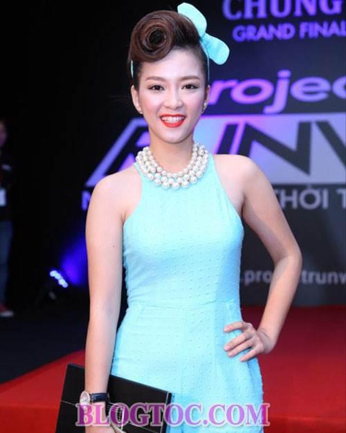Những kiểu tóc xoăn đẹp mang phong thái cổ điển của các sao Việt khi xuất hiện trước công chúng 5