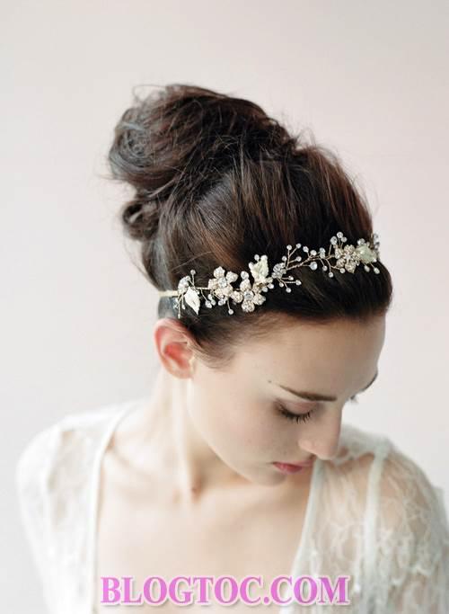 Xu hướng những kiểu tóc đẹp đơn giản cho cô dâu lựa chọn vào ngày cưới trọng đại trong mùa hè năm 2015 1