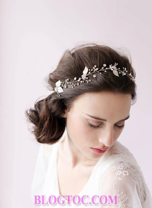 Xu hướng những kiểu tóc đẹp đơn giản cho cô dâu lựa chọn vào ngày cưới trọng đại trong mùa hè năm 2015 9