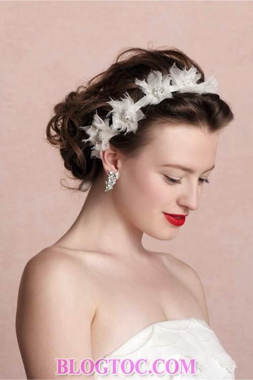 Xu hướng những kiểu tóc đẹp đơn giản cho cô dâu lựa chọn vào ngày cưới trọng đại trong mùa hè năm 2015 10