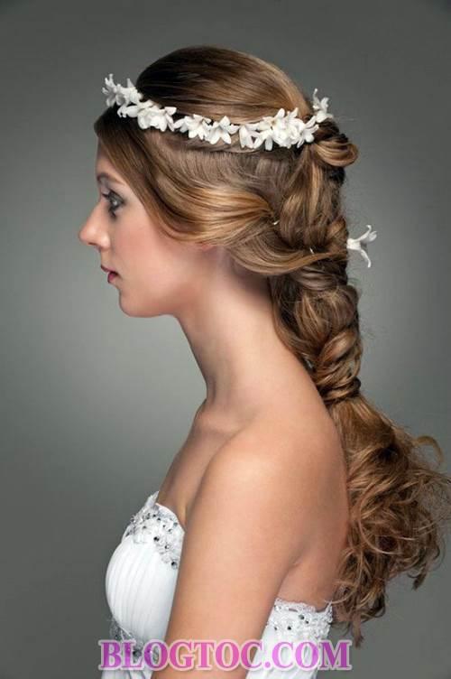 Xu hướng những kiểu tóc đẹp đơn giản cho cô dâu lựa chọn vào ngày cưới trọng đại trong mùa hè năm 2015 11