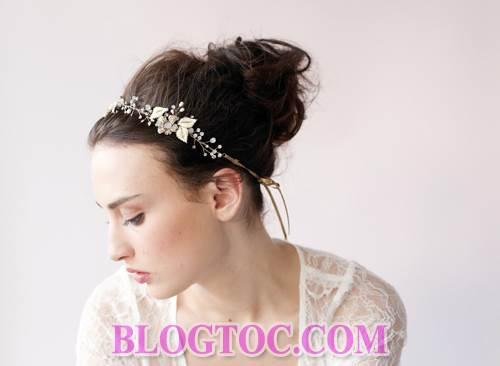 Xu hướng những kiểu tóc đẹp đơn giản cho cô dâu lựa chọn vào ngày cưới trọng đại trong mùa hè năm 2015 2
