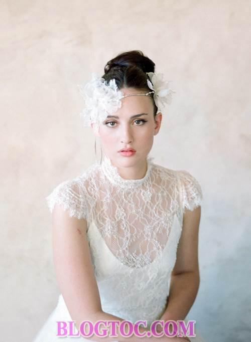 Xu hướng những kiểu tóc đẹp đơn giản cho cô dâu lựa chọn vào ngày cưới trọng đại trong mùa hè năm 2015 3