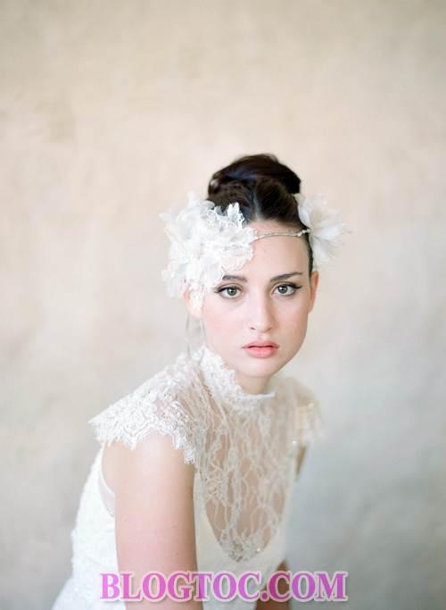 Xu hướng những kiểu tóc đẹp đơn giản cho cô dâu lựa chọn vào ngày cưới trọng đại trong mùa hè năm 2015 4