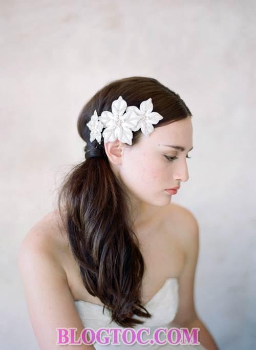 Xu hướng những kiểu tóc đẹp đơn giản cho cô dâu lựa chọn vào ngày cưới trọng đại trong mùa hè năm 2015 6