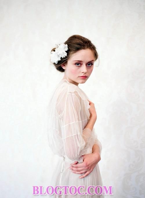 Xu hướng những kiểu tóc đẹp đơn giản cho cô dâu lựa chọn vào ngày cưới trọng đại trong mùa hè năm 2015 7
