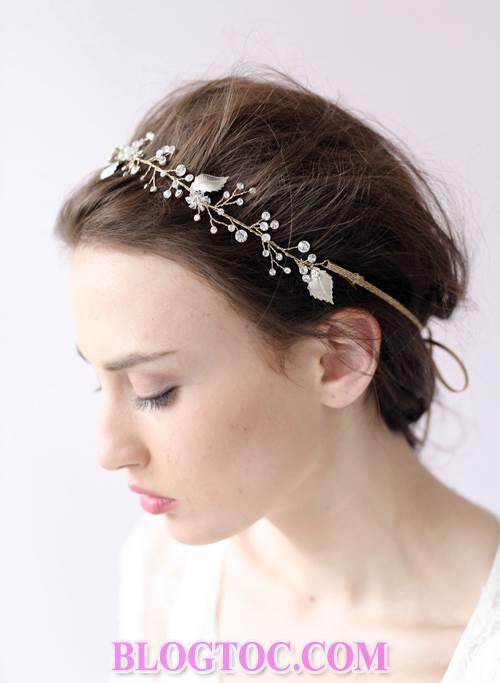 Xu hướng những kiểu tóc đẹp đơn giản cho cô dâu lựa chọn vào ngày cưới trọng đại trong mùa hè năm 2015 8