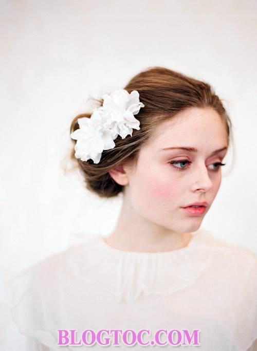 Xu hướng những kiểu tóc đẹp đơn giản cho cô dâu lựa chọn vào ngày cưới trọng đại trong mùa hè năm 2015 12