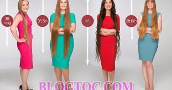 Xu hướng tóc dài đẹp của phụ nữ tuổi trung niên 1