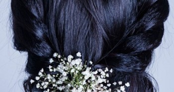 Hướng dẫn cách tạo kiểu tóc tết búi thấp đơn giản tại nhà rất hiệu quả 1