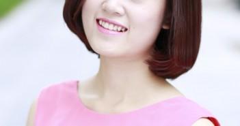 Nhưng kiểu tóc đẹp cho gương mặt góc cạnh trở nên quyến rũ nhờ che đi khuyết điểm 1