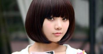 Những kiểu tóc ngắn đẹp cho khuôn mặt tròn trông rất phá cách 1