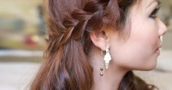 Những kiểu tóc tết đẹp cho các bạn gái dự tiệc đẹp nhất và sinh động nhất 1
