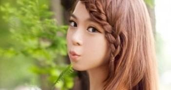 Cách tết tóc đơn giản cho bạn gái xinh lung linh trong mùa lễ hội 1
