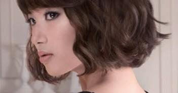 Kiểu tóc ngắn uốn xoăn đẹp nhất hiện nay cho bạn gái nét dịu dàng nữ tính 8