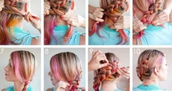 Cách tết tóc đẹp và đơn giản cho bạn gái thêm xinh tươi quyến rũ mùa lễ hội 7