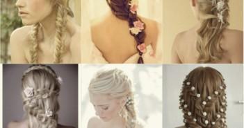 Kiểu tóc tết cô dâu đẹp tinh tế mang lại sự quyến rũ và sang trọng 1